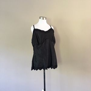 Size 20 Camisole Black Fashion Bug..